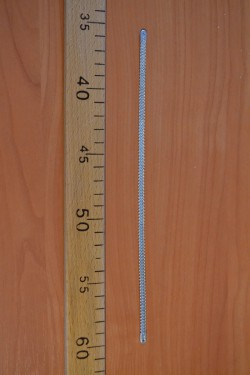 corset metal bone 25cm