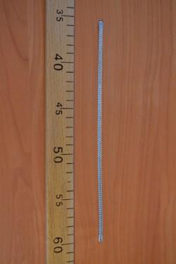кістка корсетна металева 35см